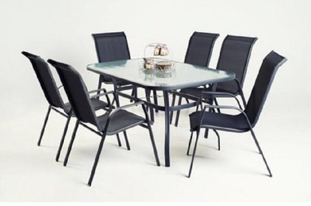 Kovový záhradný stôl Demat