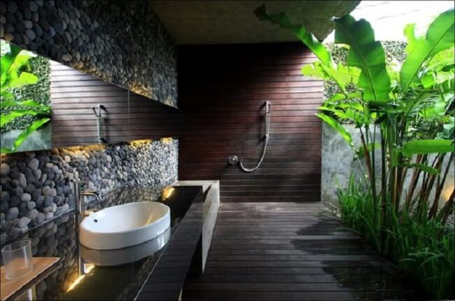 Zeleň v kúpeľni