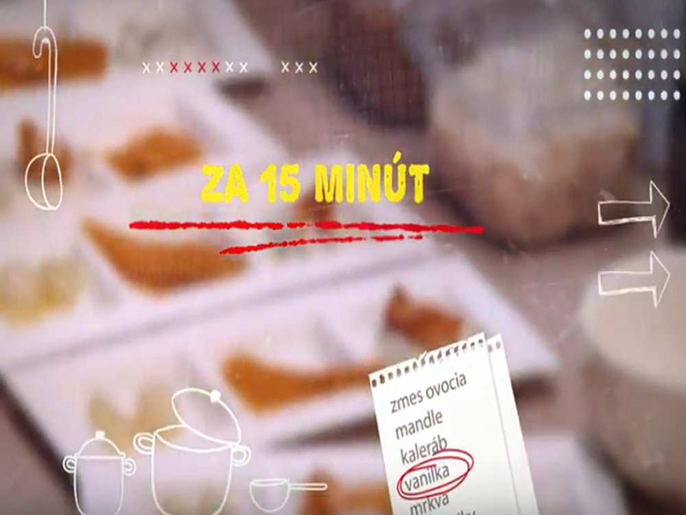 15 minútové recepty