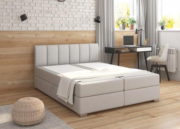 Priestranná posteľ RIANA 180x200 sa postará o maximálne pohodlie