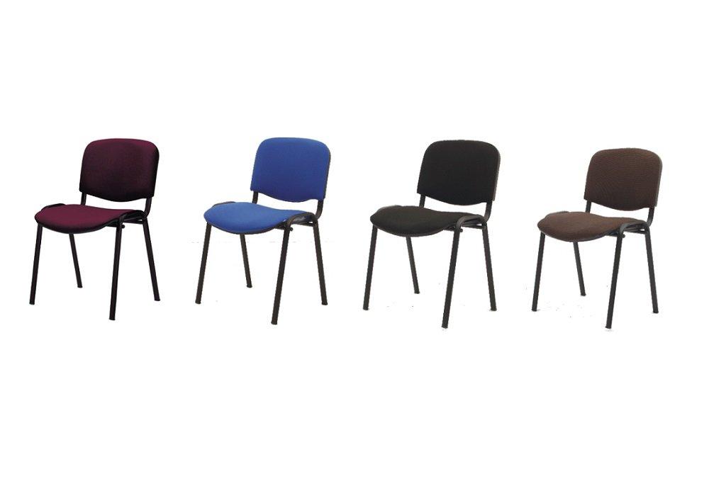 Lacné zasadacie stoličky ISO NEW v rôznych farbách