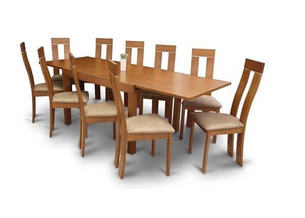 Rozkladací stôl Faro.