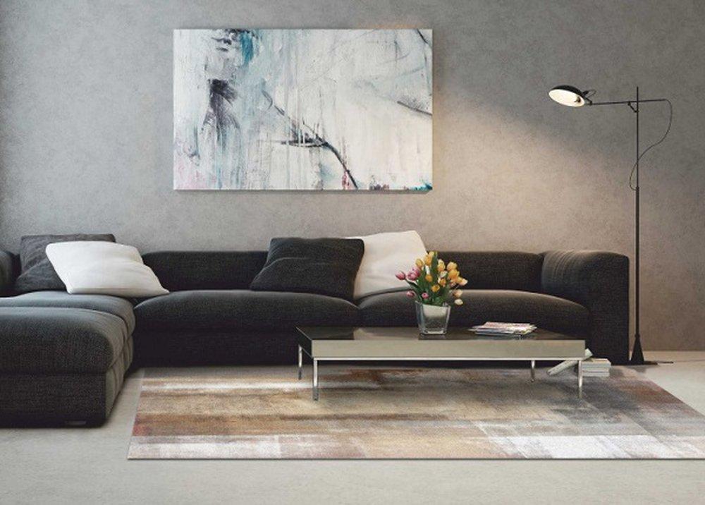 Esmarina, moderný koberec v obývačke
