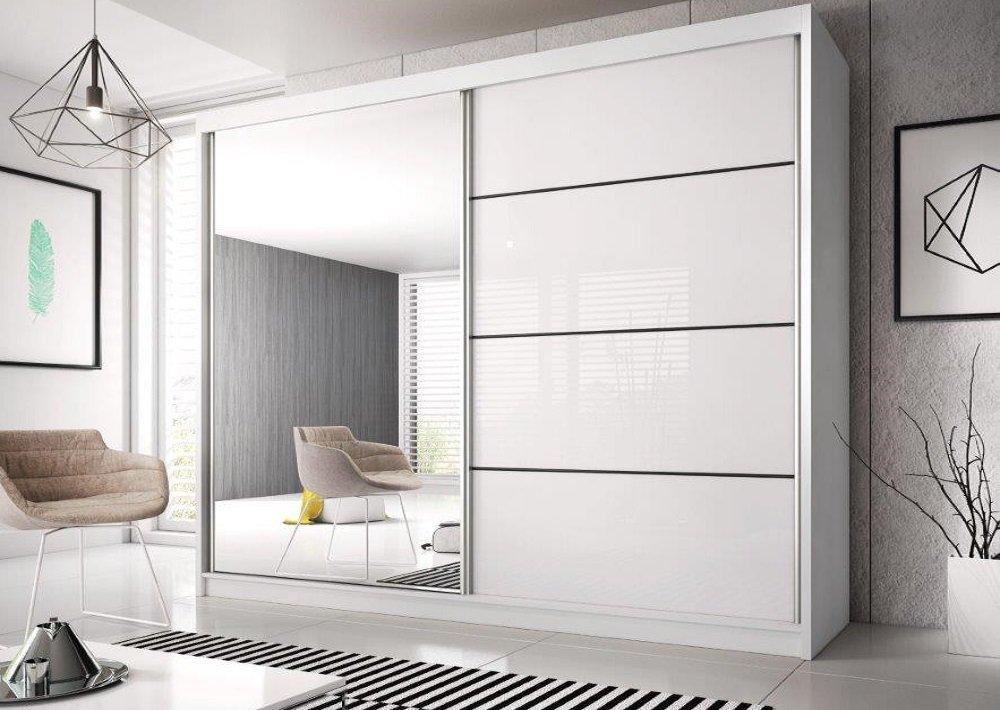 Skriňa s posúvacími dverami Multi biela