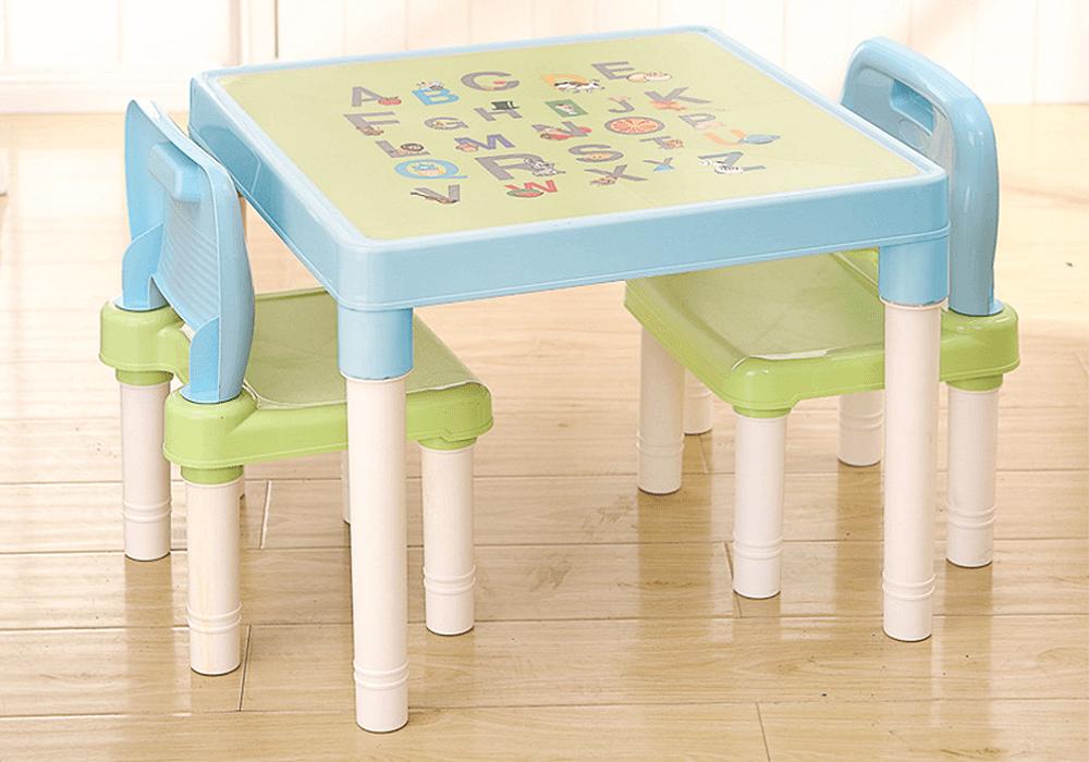 Detský set 1+2, modrá/zelená/biela, BALTO