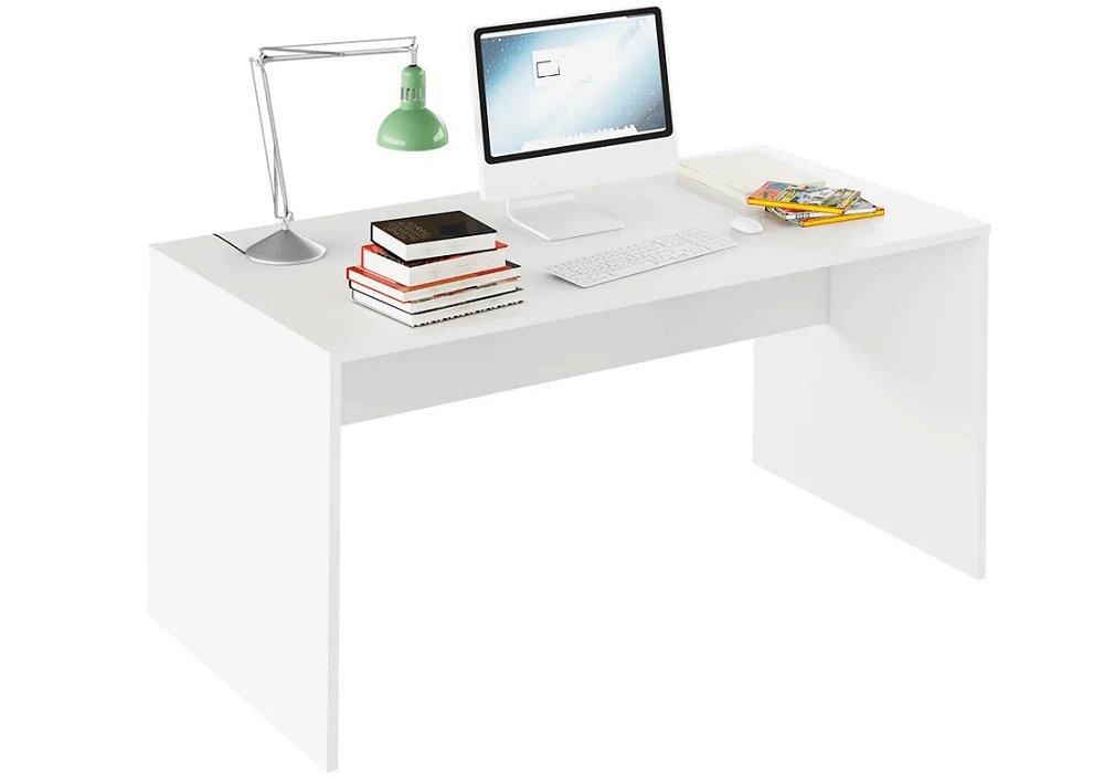Počítačový stôl Rioma biela