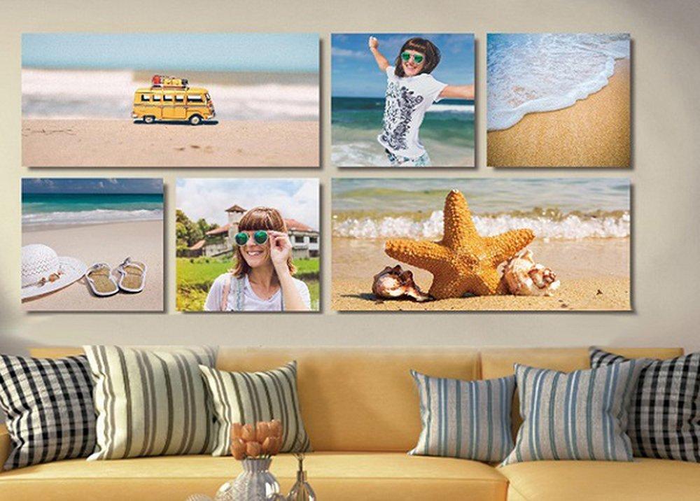Sada obrazov Pláž