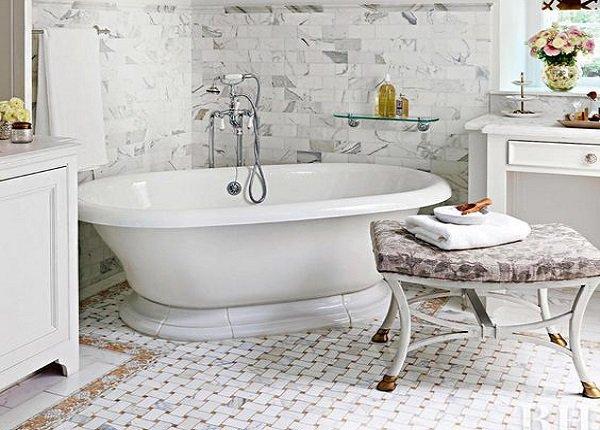 Sedenie v kúpeľni. Zdroj: pinterest.com