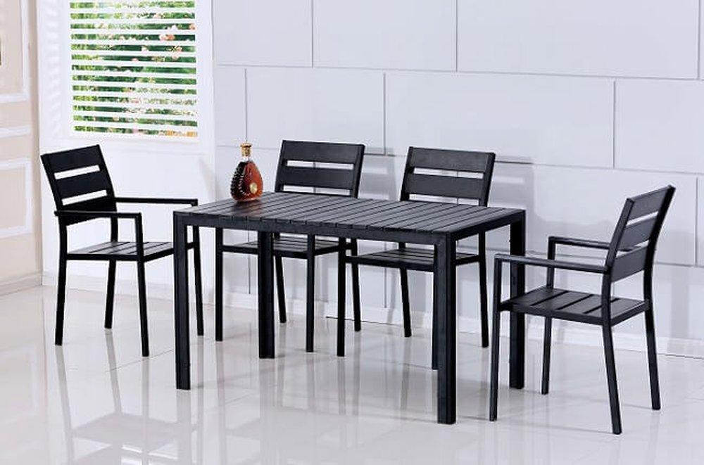 Set do záhrady Gurduk, štyri stoličky a stôl