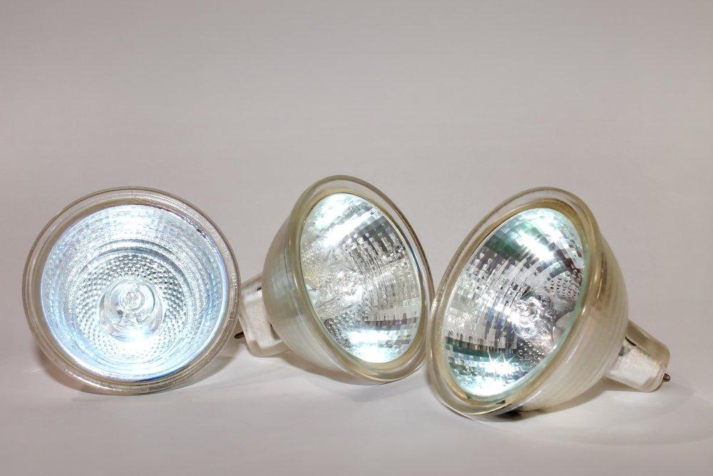 Halogénnová žiarovka, 3 kusy
