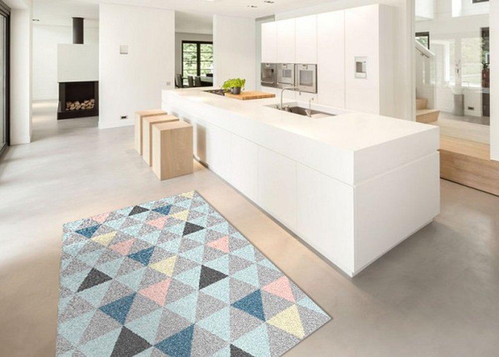 Vzorkovaný koberec Petal