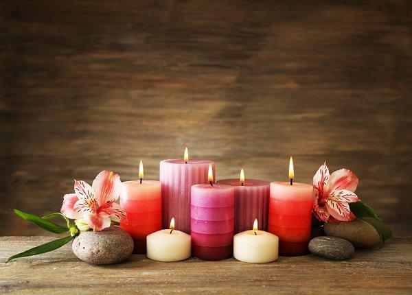 Sviečky a Hygge