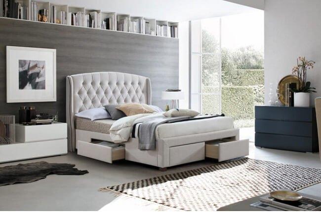 Manželská posteľ Akana