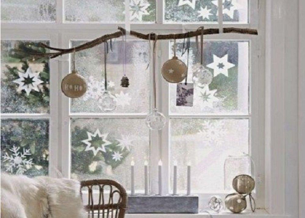 Čisté okná na Vianoce