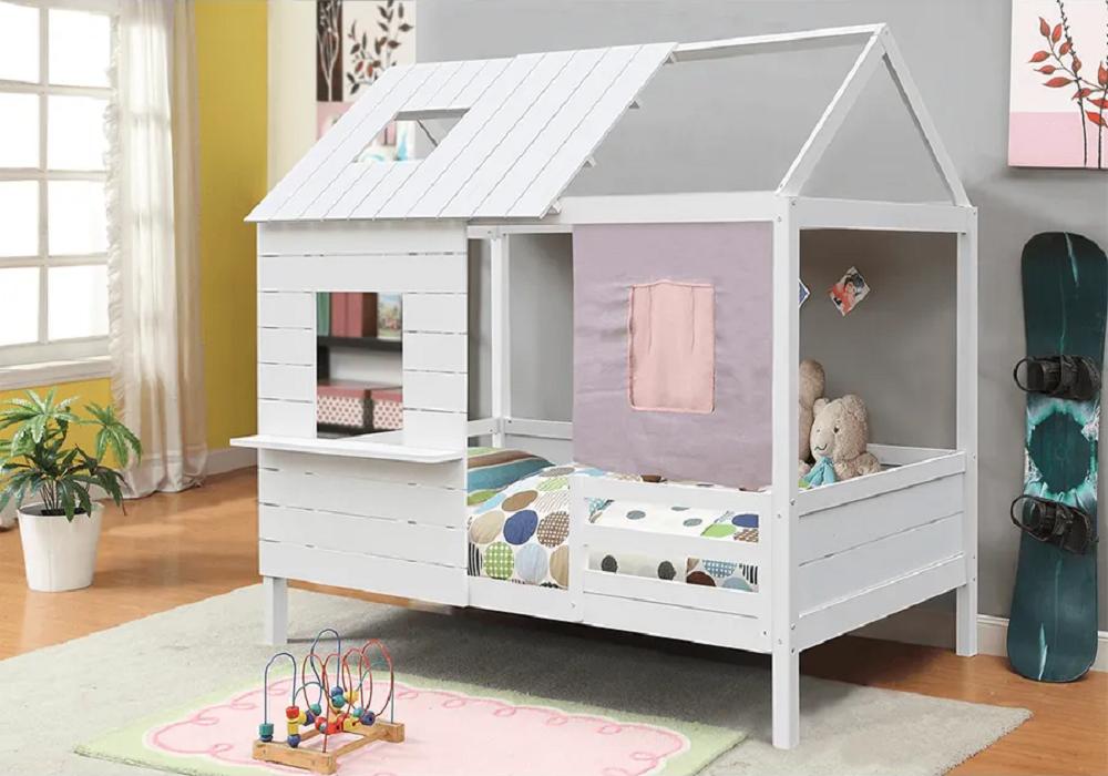Montessori posteľ v tvare domčeka Bibiana