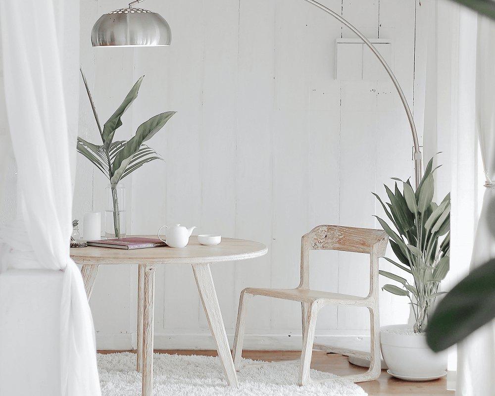 Retro stolík a stolička