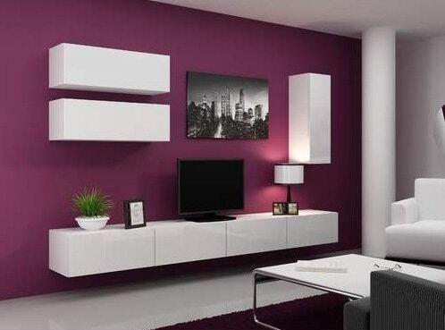 Závesný nábytok do obývačky