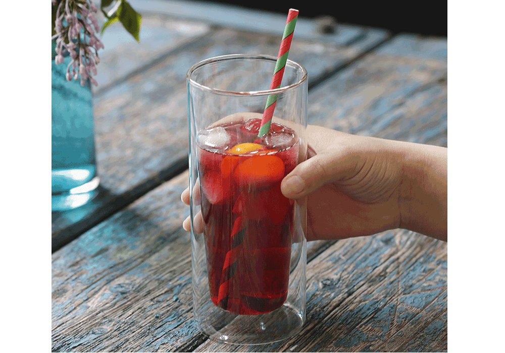 Termo pohár na drink, 2ks, 300ml, HOTCOLD TYP 13