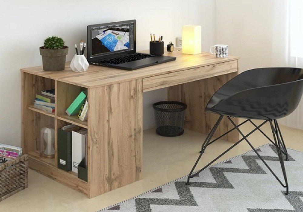 PC stôl Vendi v prevedení dub wotan
