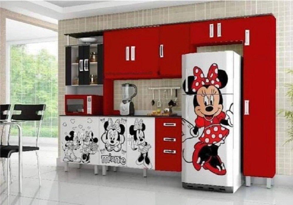 Nálepky na chladničke v tvare Mickey Minney