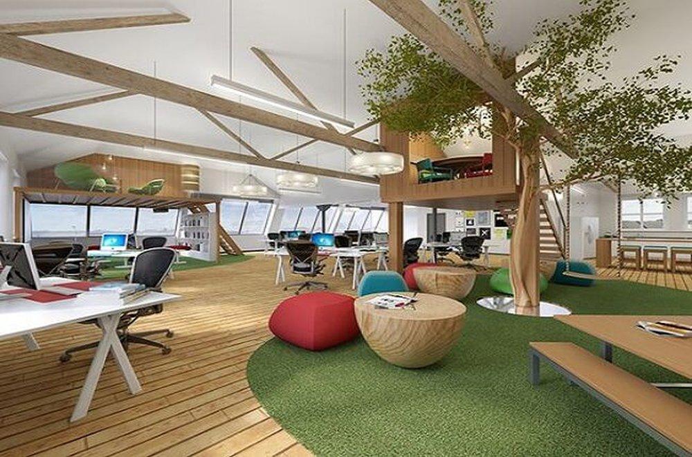 Moderná kancelária