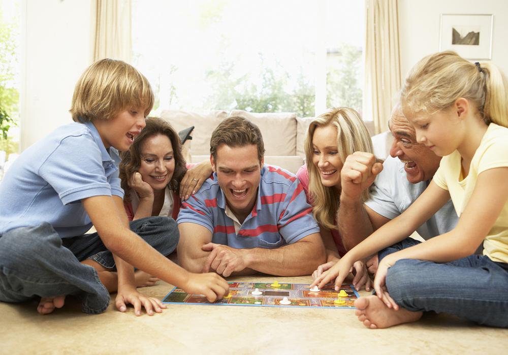 Hrajte spoločenské hry
