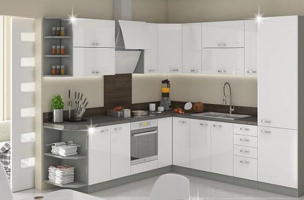 Kuchynská linka Prado biela