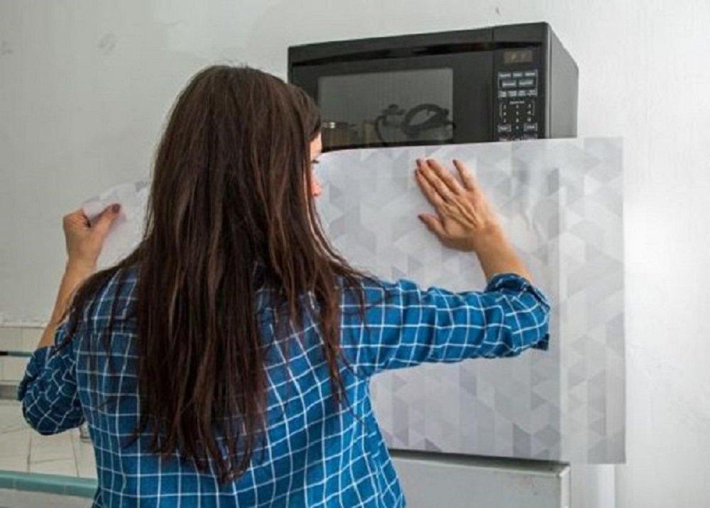 Tapetujte svoju chladničku