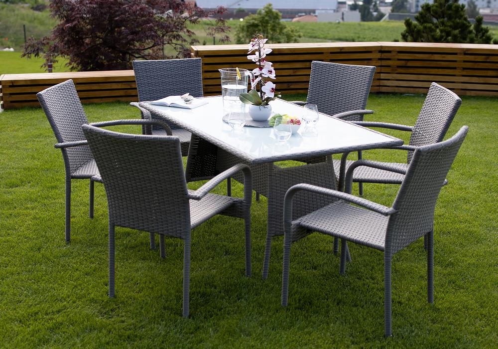 Záhradný set Obsor, stôl a stoličky