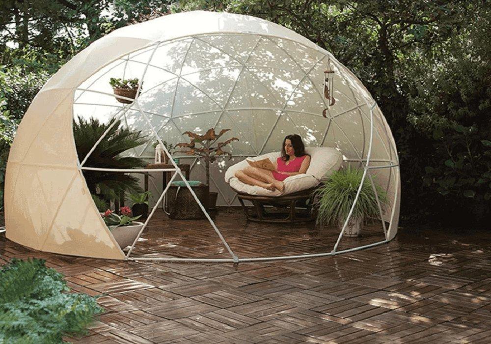 Záhradný prístrešok, letná/zimná verzia, 3,6x2,2m, IGLU