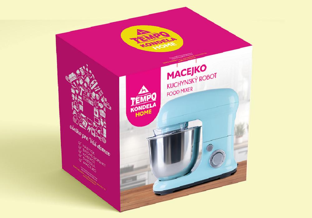 Kuchynský robot Macejko v škatuli