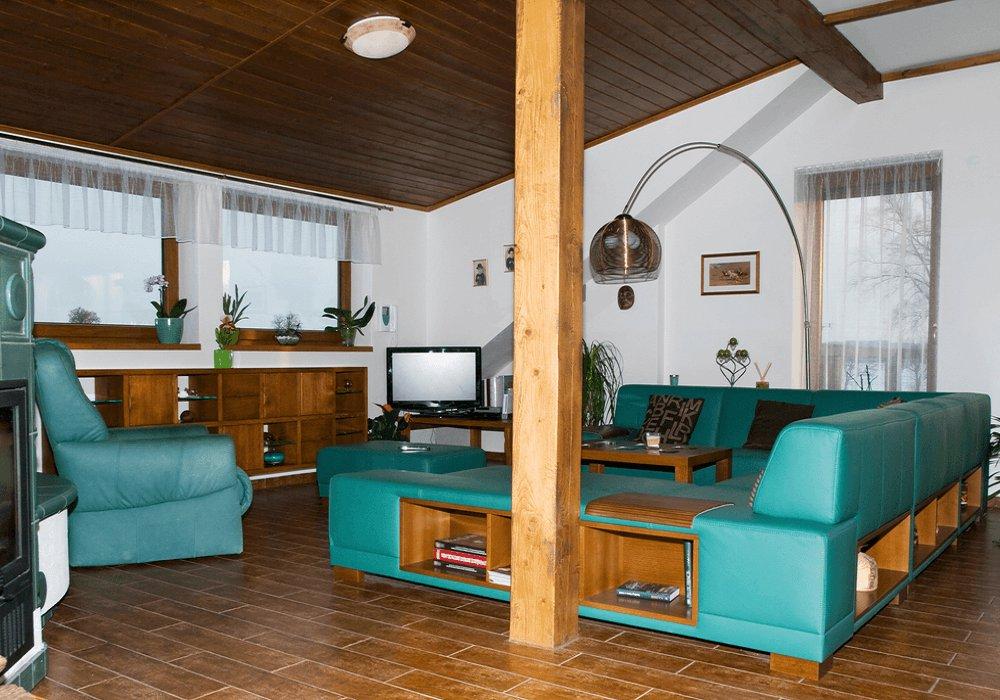 Rustikálny štýl v interiéri
