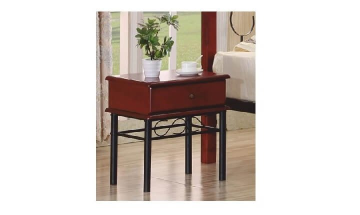 Romantický nočný stolík Celesta
