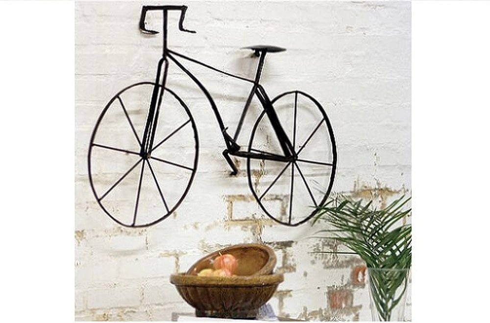 Bicykel ako dekorácia
