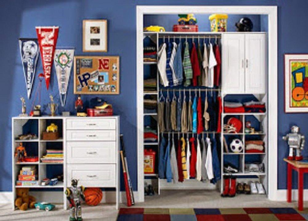 Dostatok úložných priestorov v detskej izbe