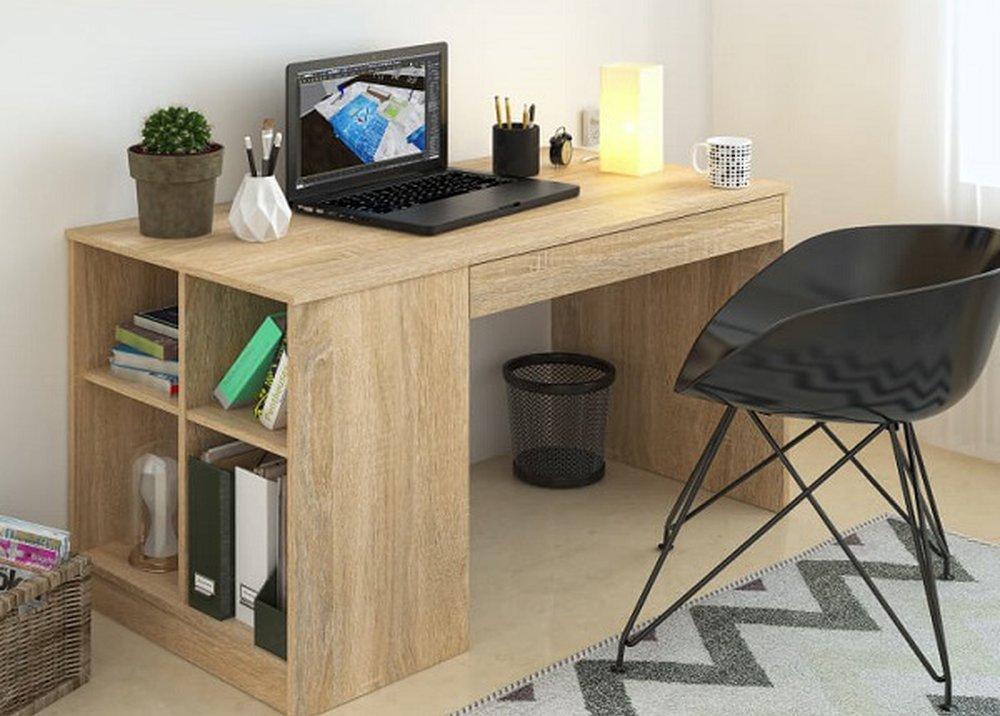 Písací stôl Vendi v prevedení dub sonoma