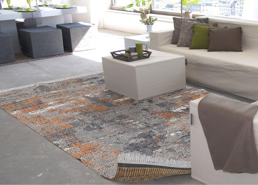 Obojstranný koberec Madala s rôznymi vzormi