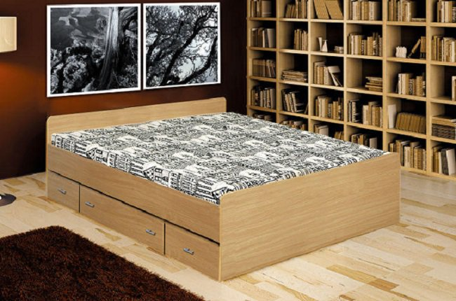 Manželská posteľ Duet s úložným priestorom s rozmerom 160x200 cm