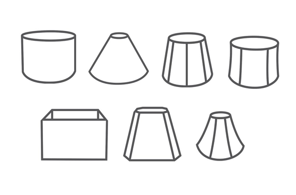 Rôzne tvary tienidiel