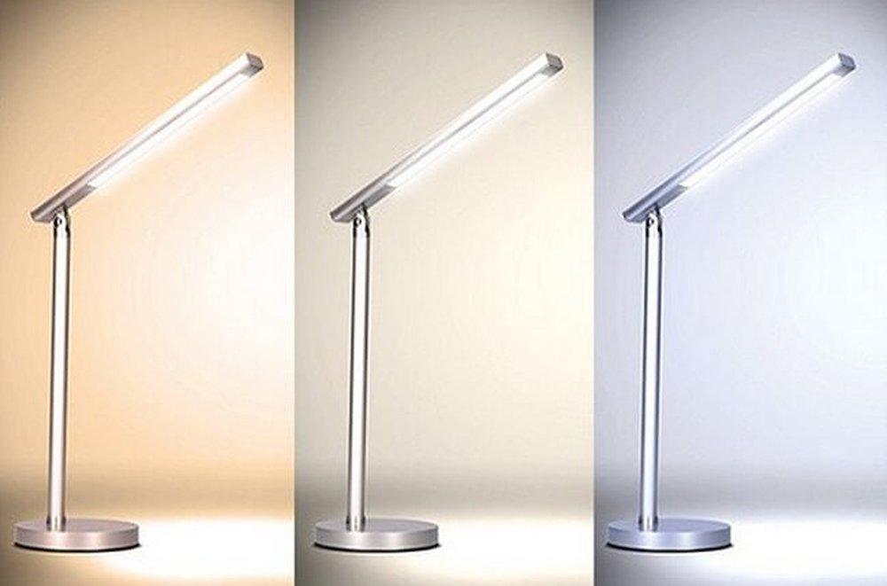 Stolná  stmievateľná LED lampička