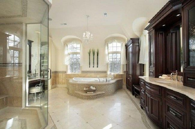 Luxusná kúpeľňa