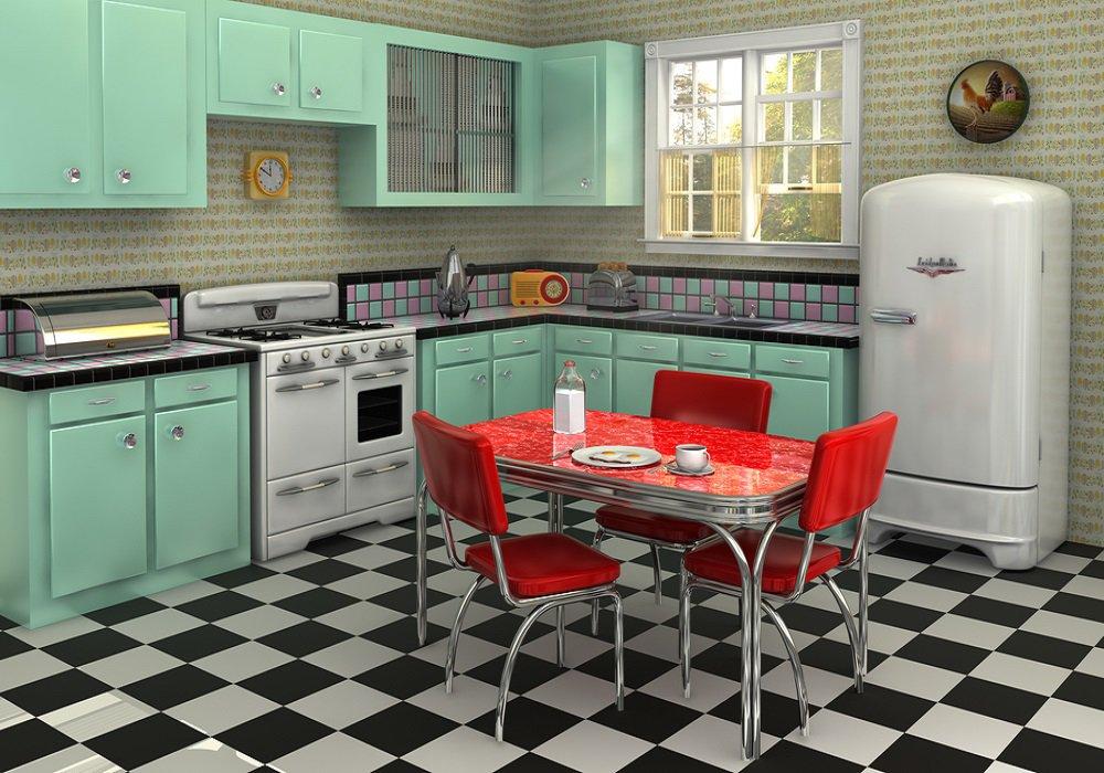 Kuchyne v retro štýle