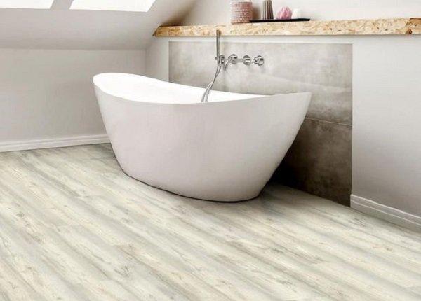 Materiál na podlahu v kúpeľni