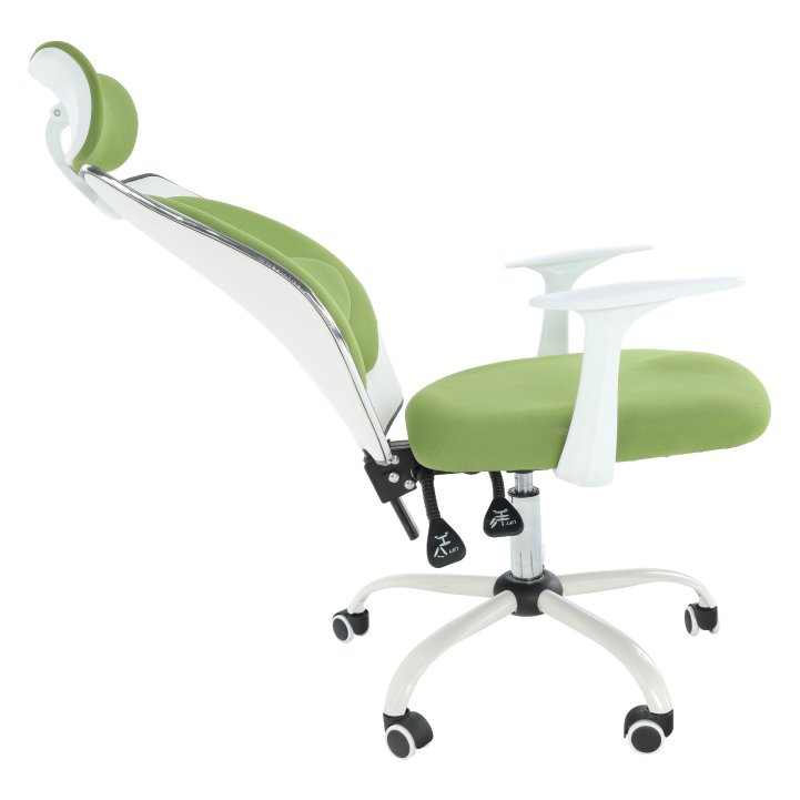 Kancelárske kreslo Benno v zelenej farbe