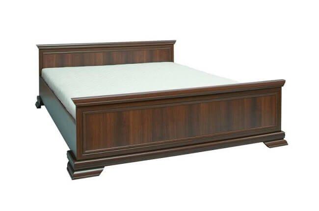 Masívna posteľ Kora v prevedení samoa king s rozmerom 160x200 cm