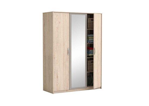 Skriňa so zrkadlom a posúvacími dverami Graphic