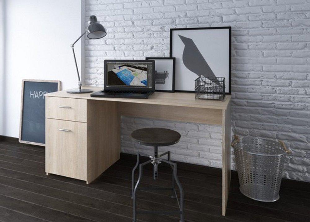 Písací stôl Bany v prevedení dub sonoma