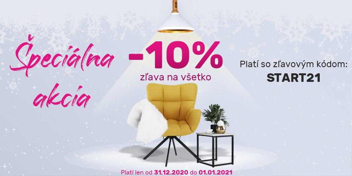 Tempo novoročná akcia - zľava 10%