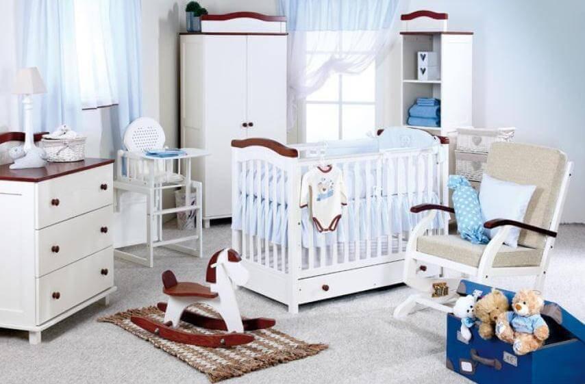 Nábytok do detskej izby pre chlapca.
