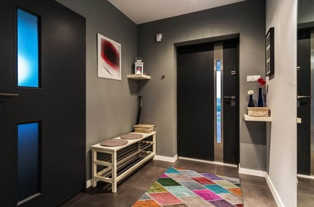 Farebný koberec Adriel
